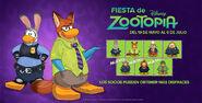 Fiesta de Zootopia Pantalla 2