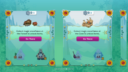 Frozen Fever Party 2016 app interface page 4