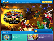 Marvel 2013 Homepage CP