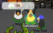 Ninja: Okey (junto a Daffodaily5 y Polo Field)