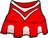Red Cheerleader Outfit clothing icon ID 254