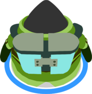 Water Suit 3000 Back View In-game