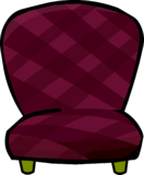 Burgundy Chair