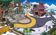 Fiesta Sigan Pingüineando Cabaña de la Mina