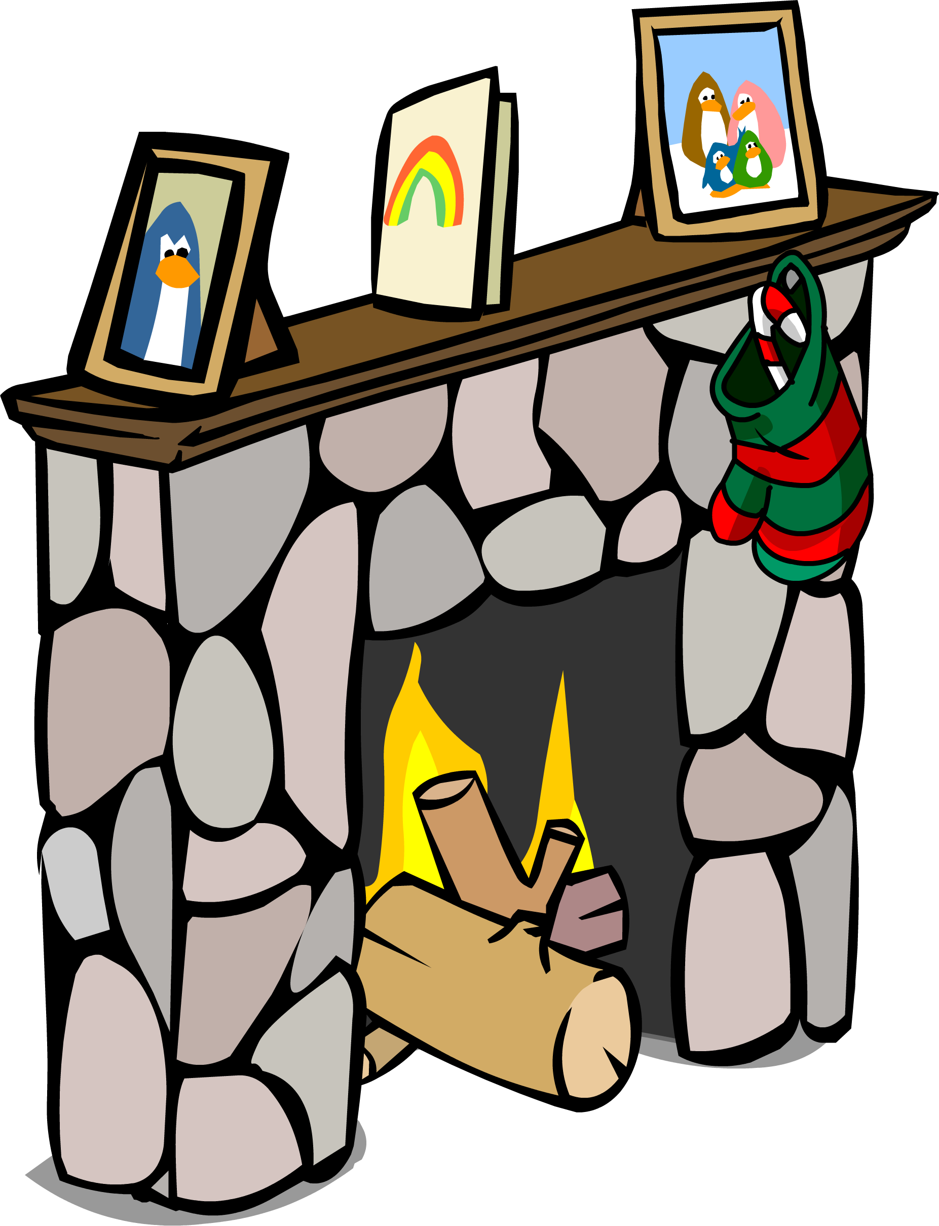image fireplace sprite 003 png club penguin wiki fandom