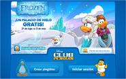 Pantalla de Inicio de Sesión Frozen