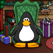 Big Cozy Chair Background on a Player Card