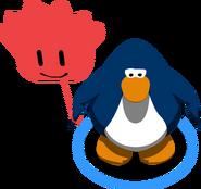 Globo de Puffle Rojo juego