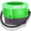 Ink or Swim green bucket icon