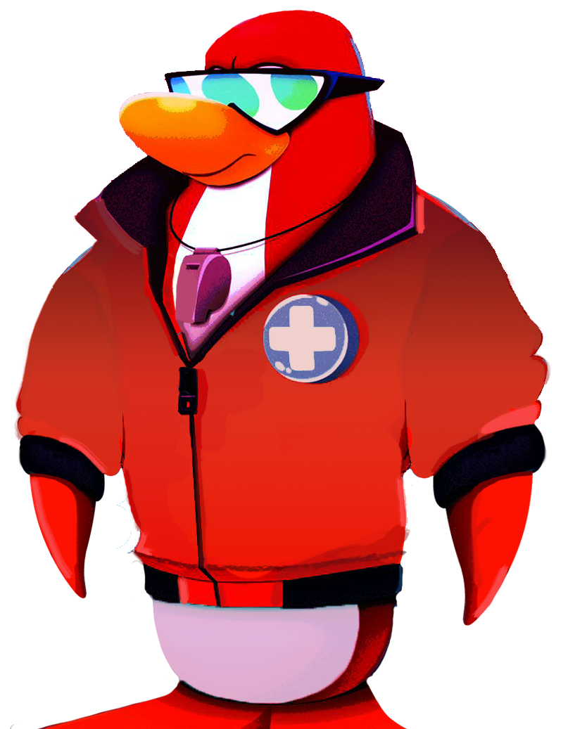 Club Penguin Island Jet Pack Guy