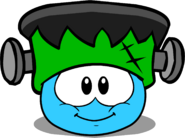 Puffle Hats Franken Hat ID 39 igloo