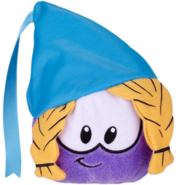 Purple Princess Puffle Plush