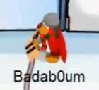Badab0um jugando en el Estadio