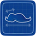 Blueprint Must Have Mustache icon