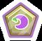 Pin de Puffito Violeta icono