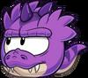 Puffle T Rex Violeta