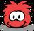 Puffle rojo fdp