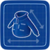 Blueprint Ski Patrol Jacket icon