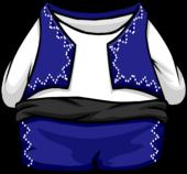 Blue Torero Suit clothing icon ID 4050
