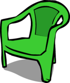 Green Plastic Chair sprite 002