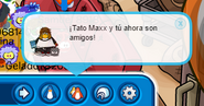 Tato Maxx Agregando Club Penguin