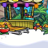 Tropical Getaway Background photo