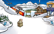 April Fools' Party 2011 Ski Village construction