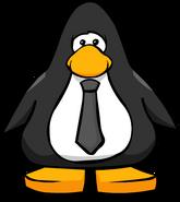 Black Tie on Player Card