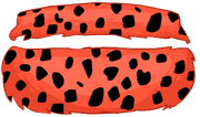 Fuzzy Polka Dot Bikini clothing icon ID 4780