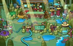 Isla de los Puffles Cafés v2