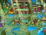 Isla de los Puffles Cafés