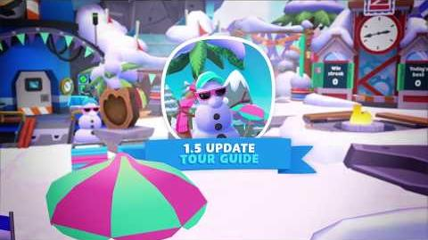 Update 1.5 Mini-games, Descendants 2, and more! Disney Club Penguin Island