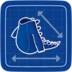 Blueprint Lizard Body icon