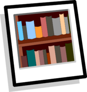 Bookshelves Background icon