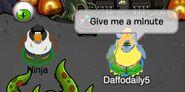 Daffodaily5 (a Ninja): Dame un minuto