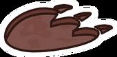 Dino Footprint Pin