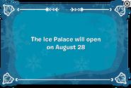 Frozen 2014 Ice Palace Error
