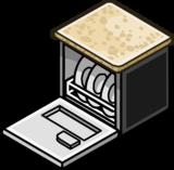 Granite Top Dishwasher sprite 006