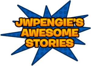 JWPengie's Awesome Stories Spoiler Alert font