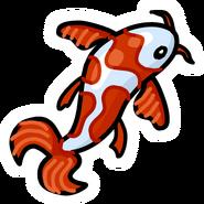 Koi Fish Pin
