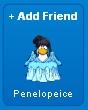 Penelopeice al enviarle una solicitud de amistad