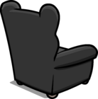 Plush Gray Chair sprite 006