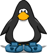 Puffle Trainers from a Player Card