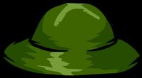 Sombrero de Safari Verde icono