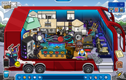 My igloo during music jam 2014