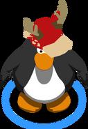 Red Deer Hat in-game