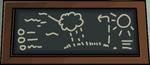School chalkboard tue