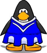 Blue Cheerleader from a Player Card