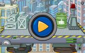 Games Super Hero Bounce Menu