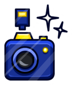 Glam Cam Pin icon